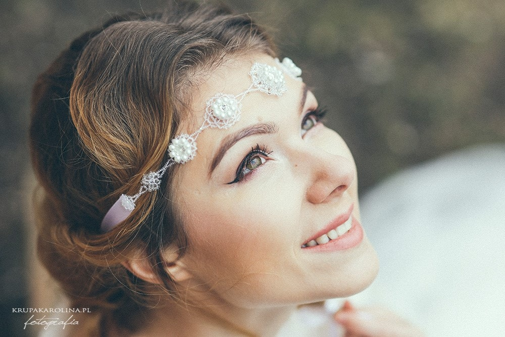 Ozdoby do włosów oraz biżuteria ślubna